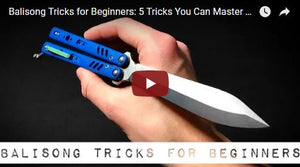 5 Easy Balisong Tricks for Beginners