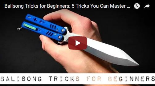 Balisong Tricks For Beginners By 50 Shades Of Blade