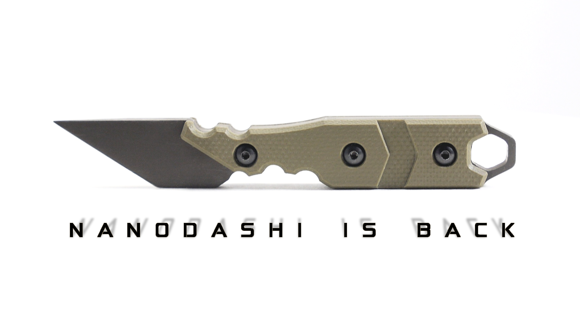 The Smallest Knife -=BRS=- Has Ever Made! - Nanodashi is Back!