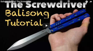 The Screwdriver (Intermediate Balisong Trick)