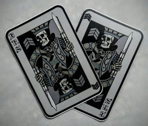 King of Blades Sticker