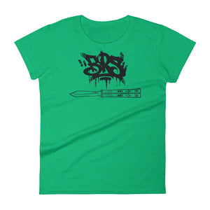 Women's -=BRS=- Handstyle short sleeve t-shirt