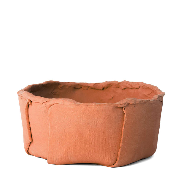 Slab Built Container 2 in Terracotta
