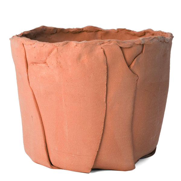 Slab Built Container 4 in Terracotta