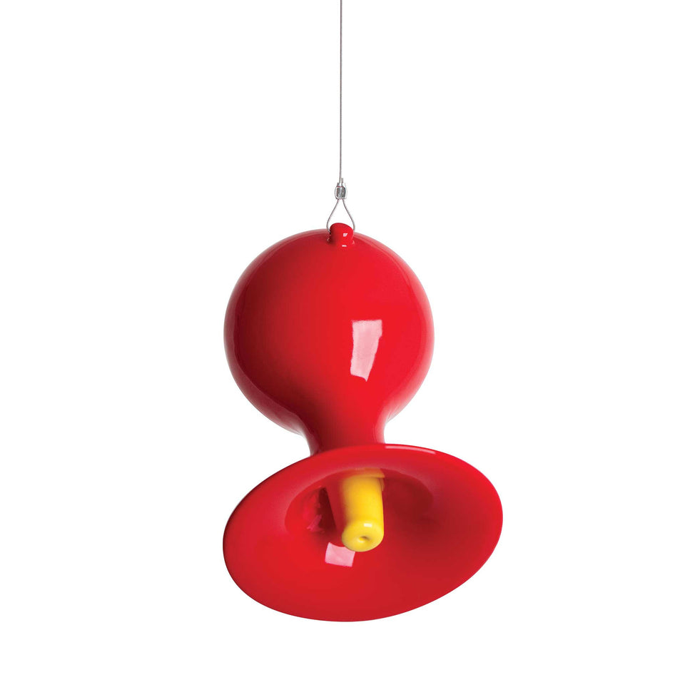 J Schatz Red Hot Hummingbird Feeder