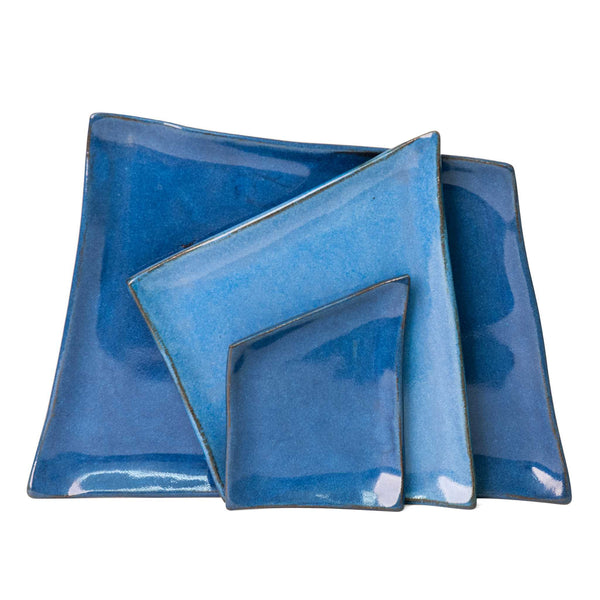 Indigo Blue Platter Set