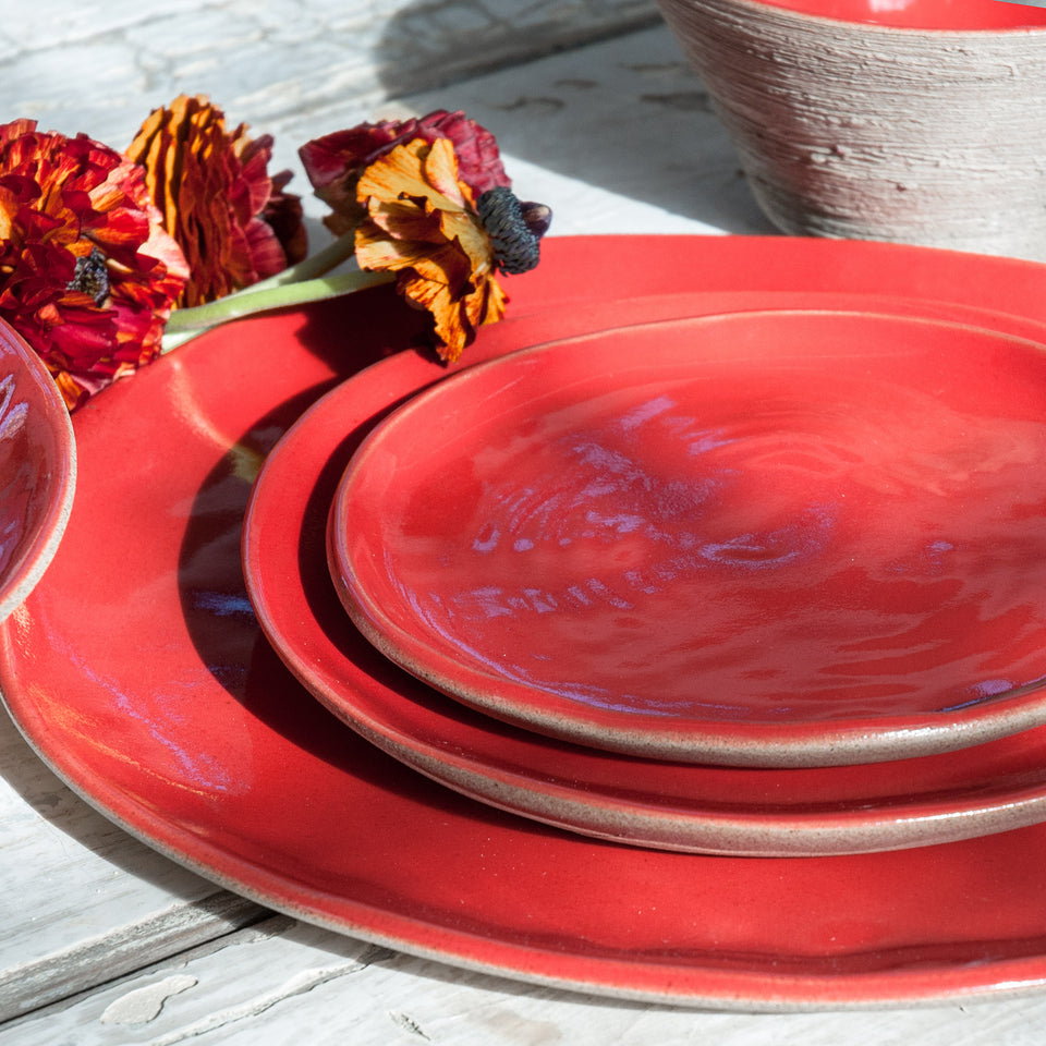 JS 157 Sumac Red Tableware Detail 3