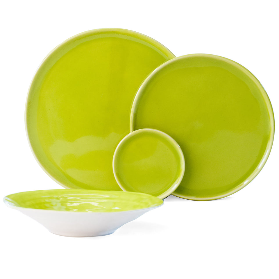 JS 158 Olive Tableware 4 Piece Set