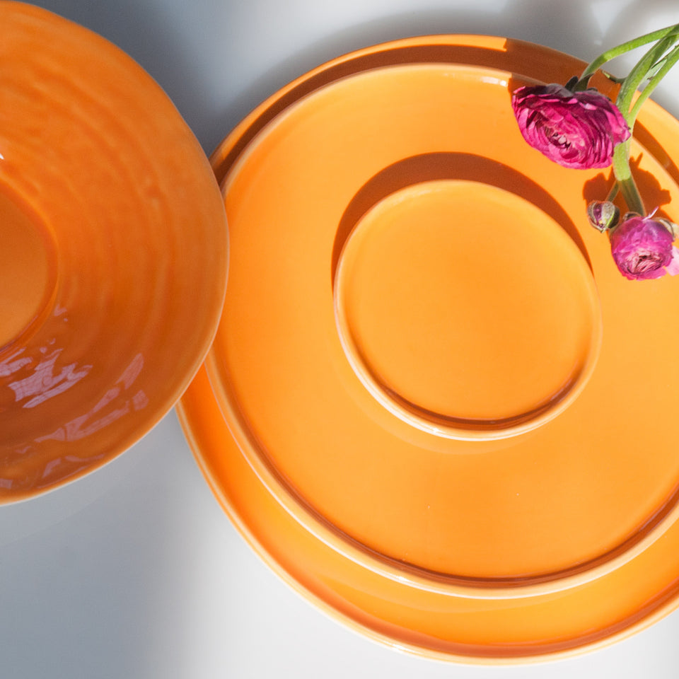 JS 158 Orange Peel Tableware Detail 2