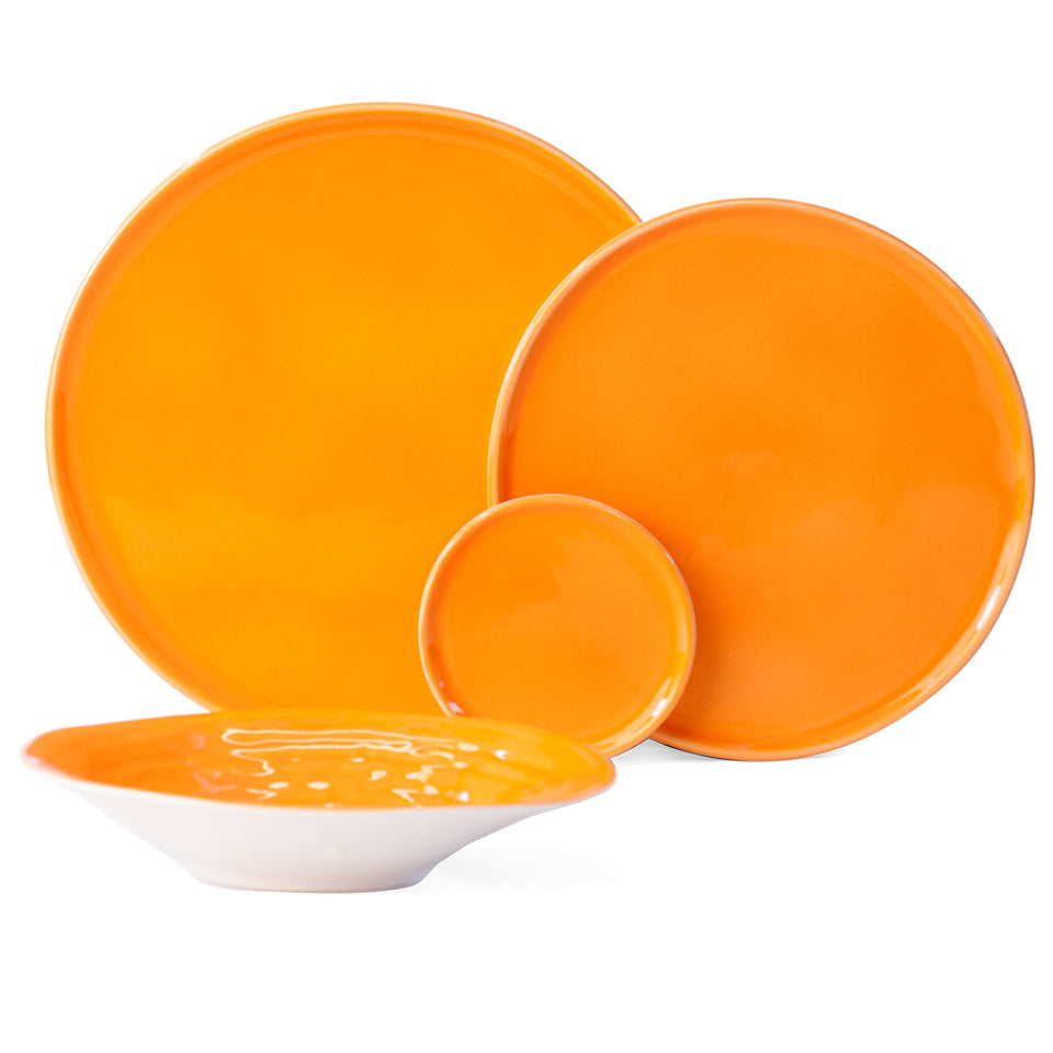 JS 158 Orange Peel Tableware Set of 4