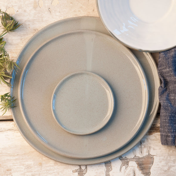 JS 159 Light Aqua Speckled Stoneware Tableware Set Detail 2