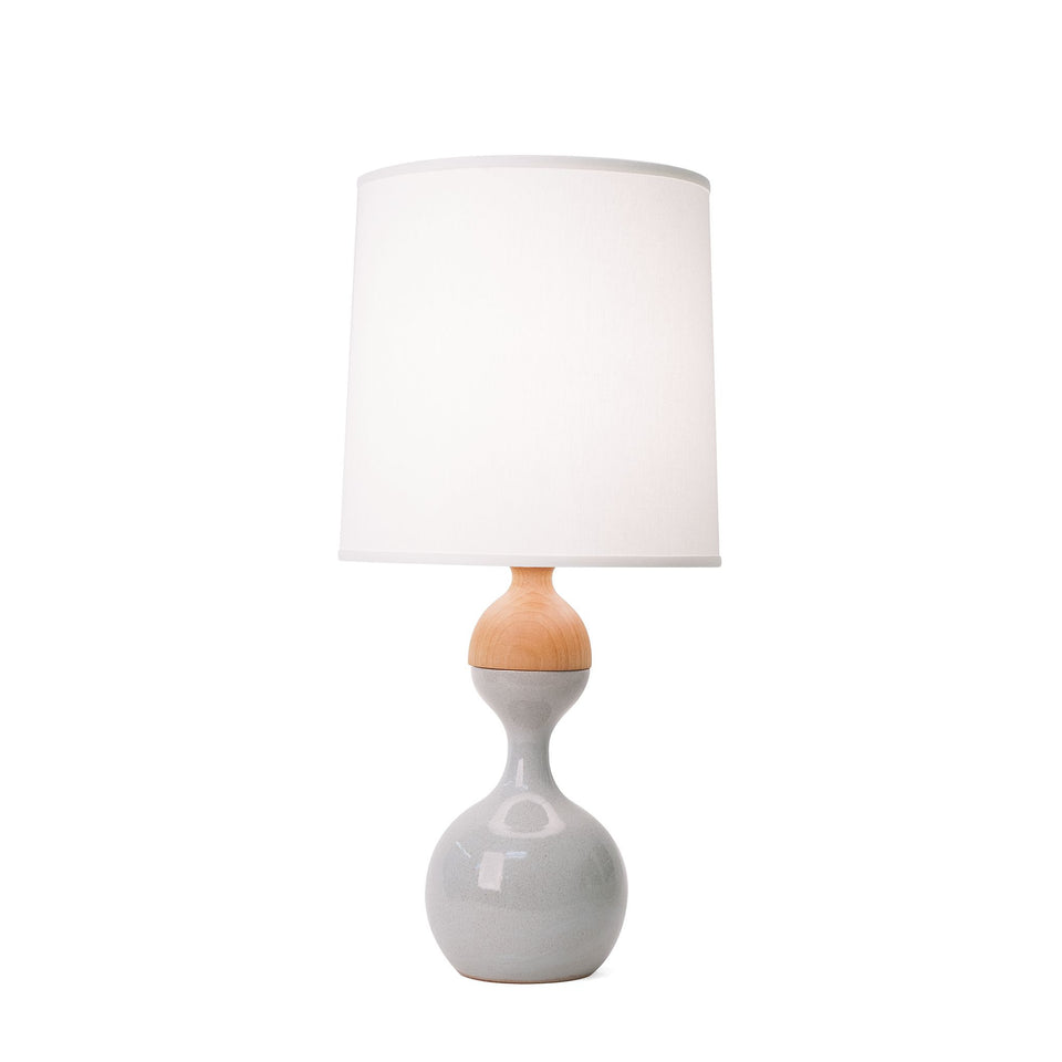 J Schatz Small Light Aqua Kuni Juu Table Lamp