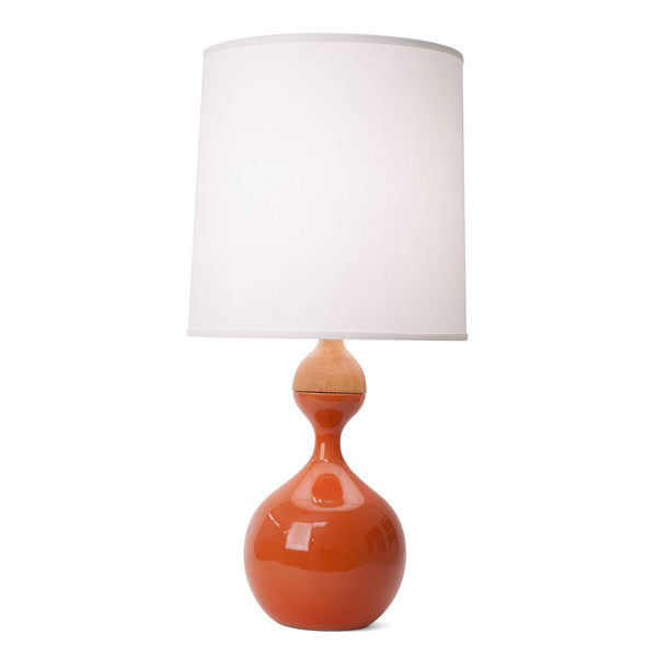 J Schatz Large Fire Orange Kuni Juu Table Lamp