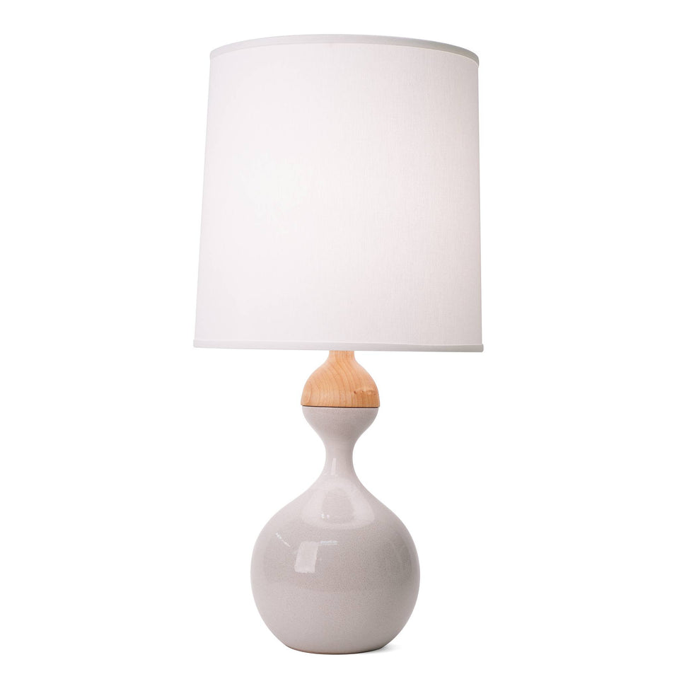 J Schatz Large Bright White Kuni Juu Table Lamp