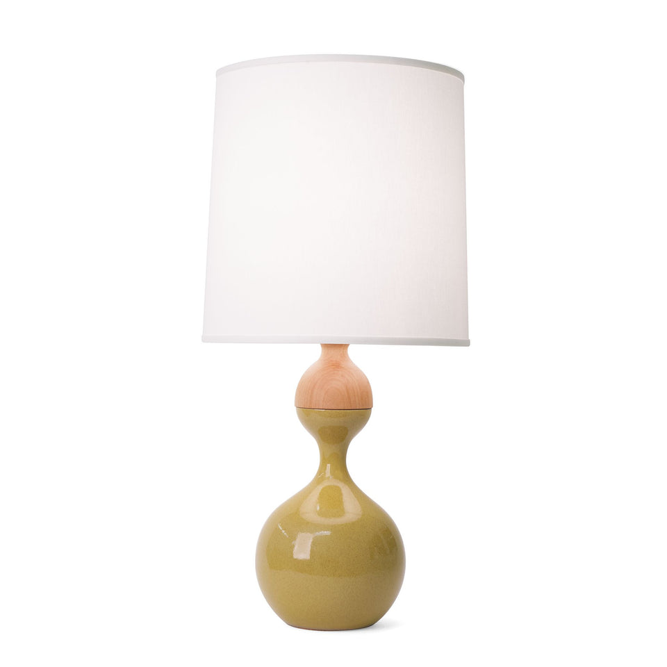 J Schatz Medium Harvest Yellow Kuni Juu Table Lamp
