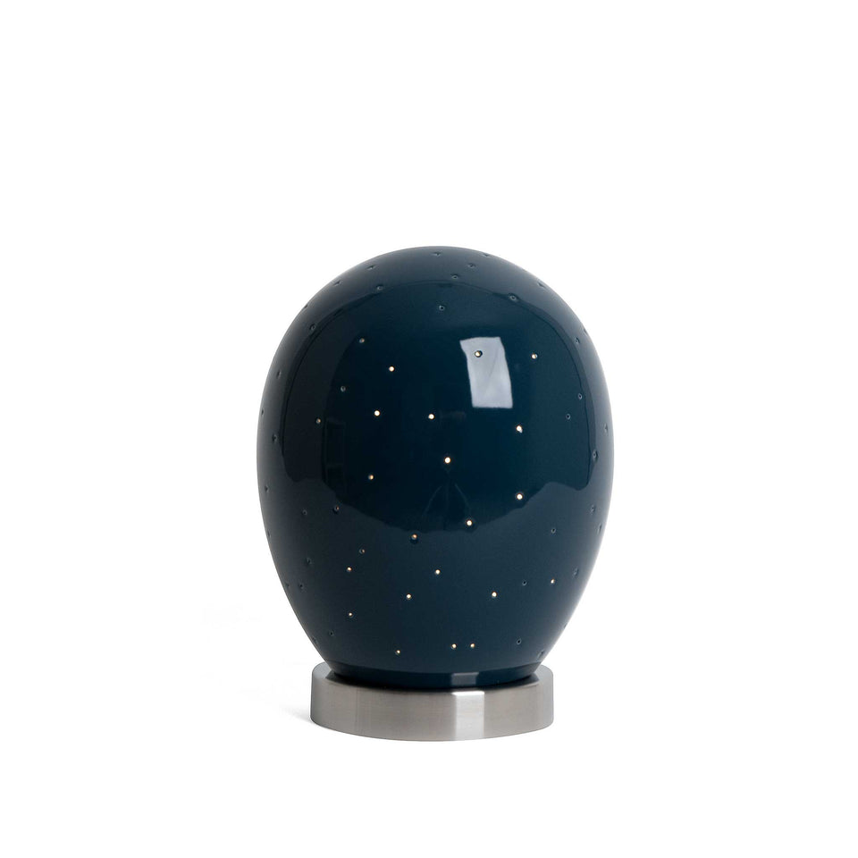 J Schatz Midnight Blue Star Egg Nightlight