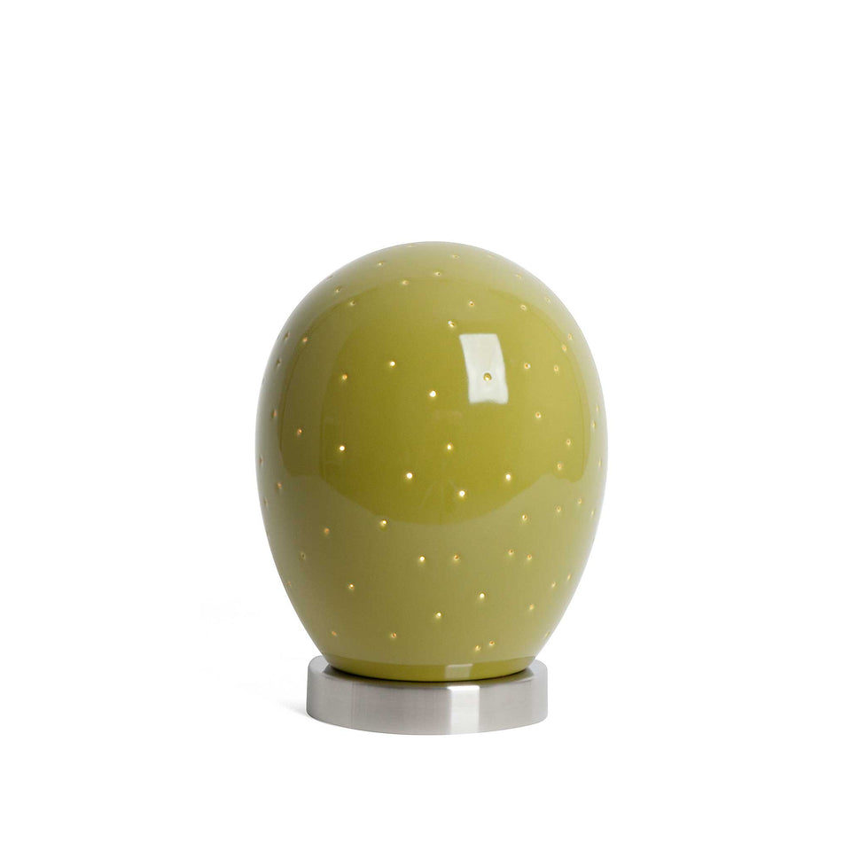 J Schatz Replacement Moss Green Star Egg for Star Egg Nightlights