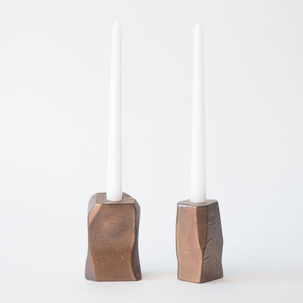 Candle Holder in Bronze 2