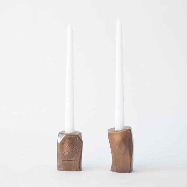 Candle Holder in Bronze 3