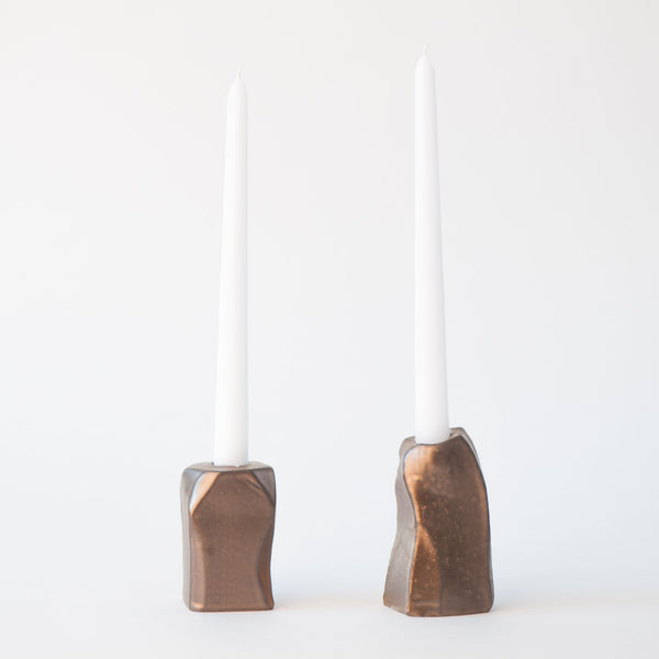 Candle Holder in Bronze 4