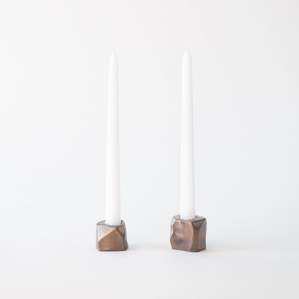 Candle Holder in Bronze 7