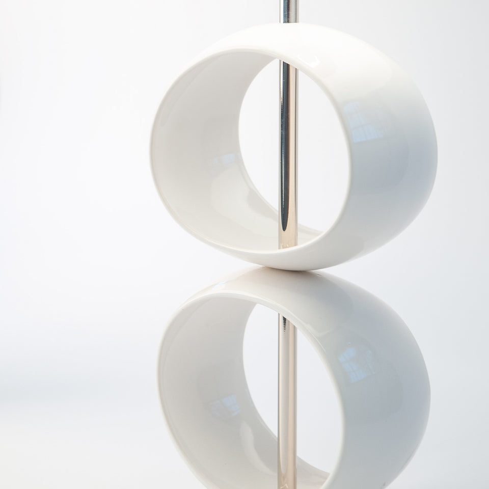 Double Orb Table Lamp Detail 1