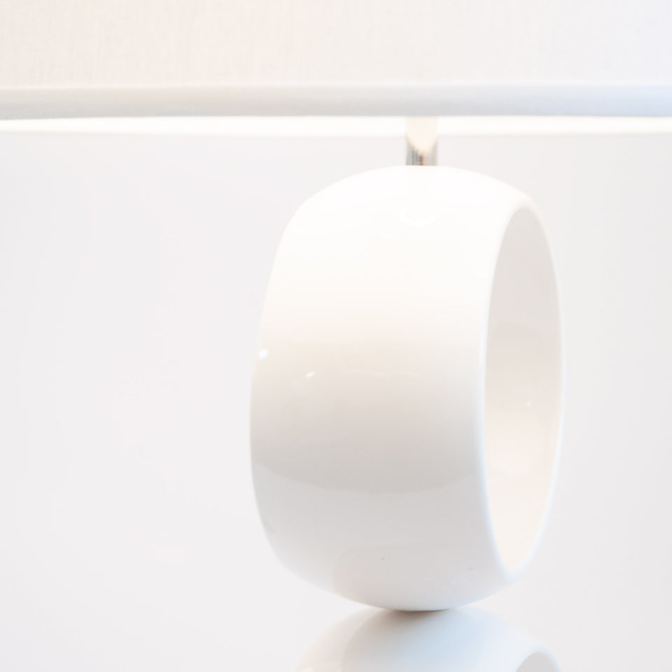 Triple Orb Table Lamp Detail 1