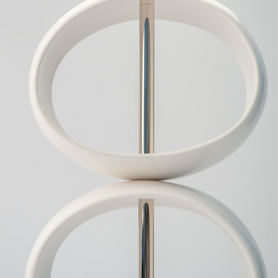 Double Orb Table Lamp Detail 2