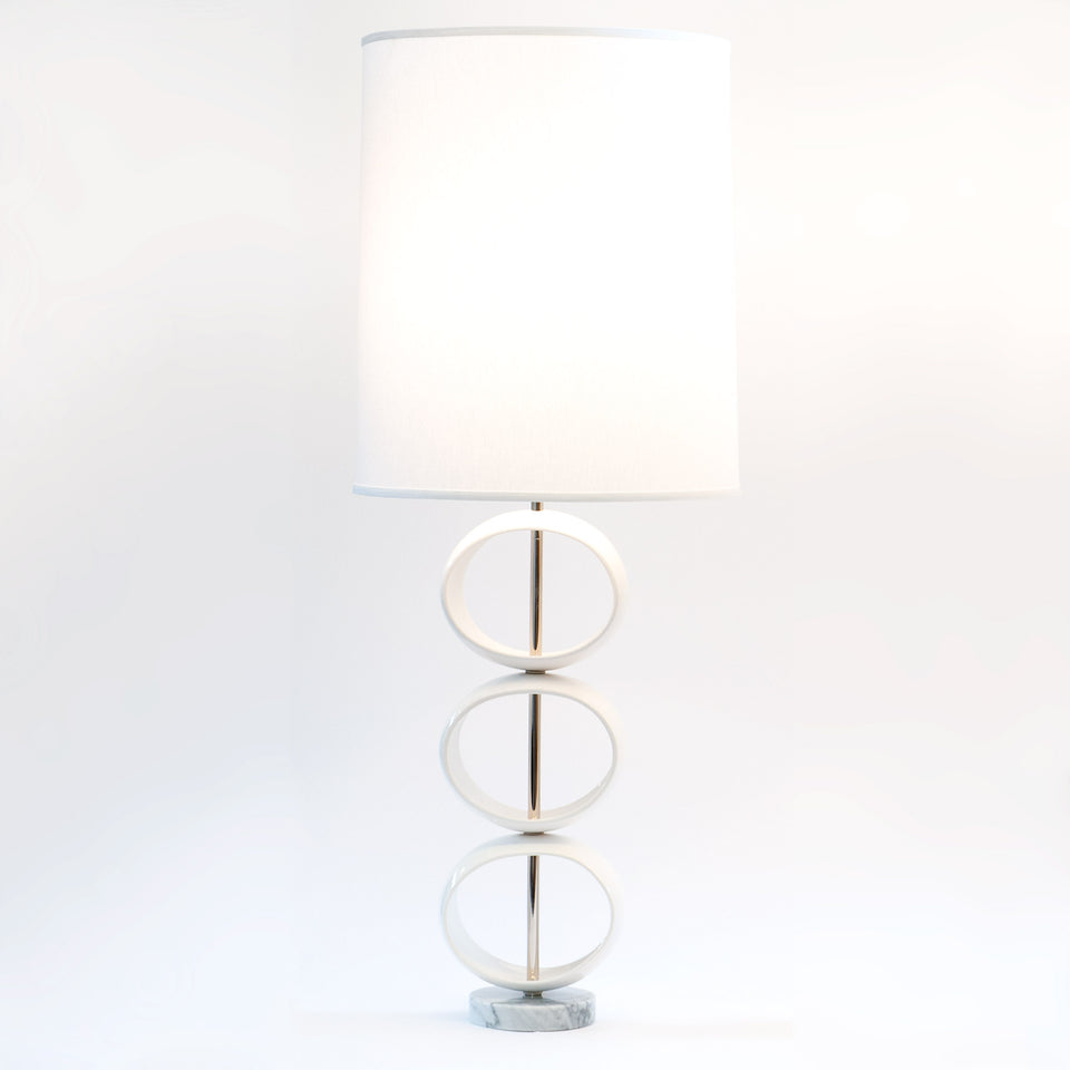 Triple Orb Table Lamp