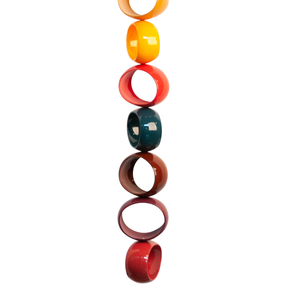 Multicolor Orb Sculpture