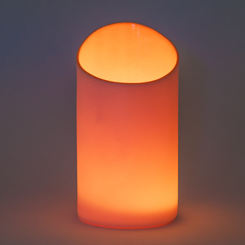 Orange Peel Porcelana Uplight