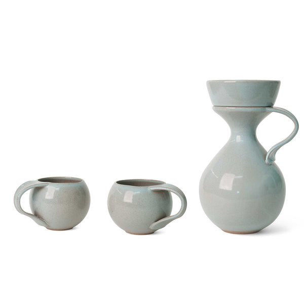 J Schatz Light Aqua Tea Maker Set