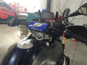 Flexx Handlebars installed on a BMW 1200 GS LC