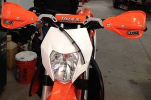Mounting Cycra CRM Hand Guards to Flexx Handlebars