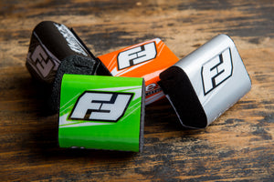 Flexx Handlebar steering damper bar pads are available in several colors.