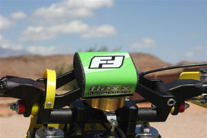 Flexx Handlebars with damper crossbars and pad ready to roost!