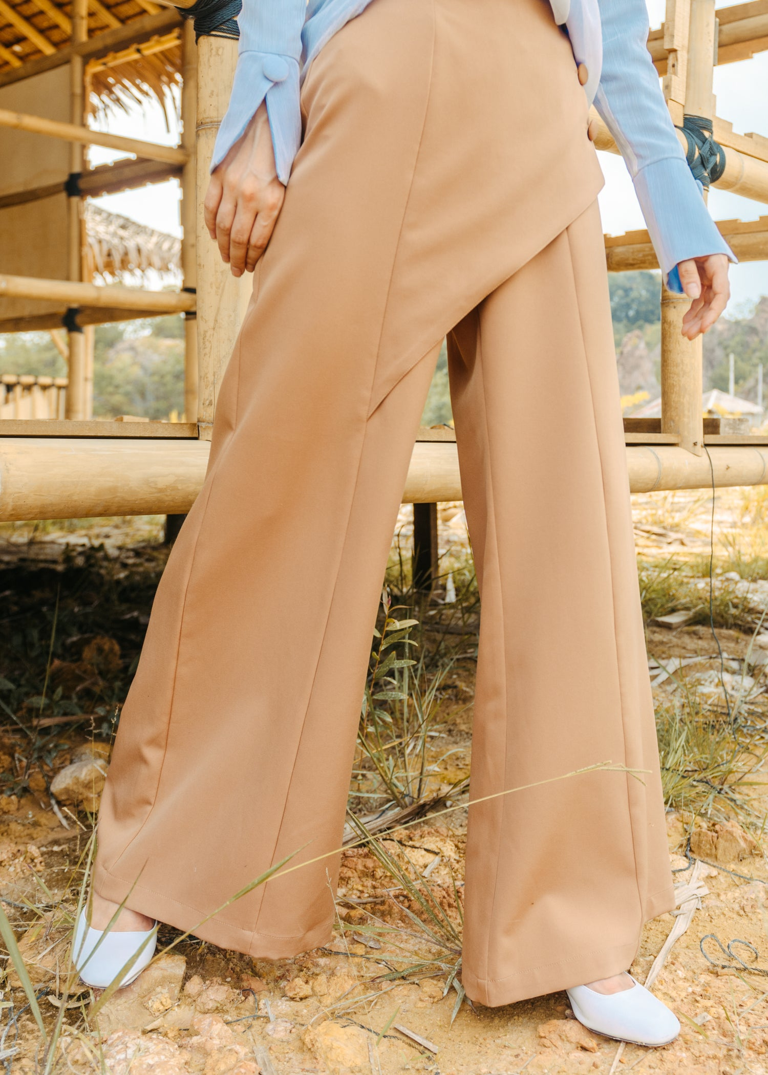 Luna Trousers in Brown