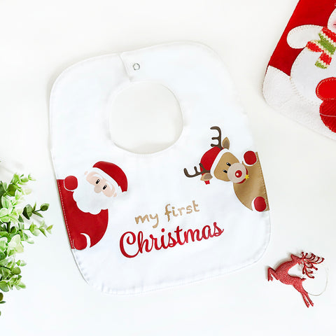 Bib My First Christmas