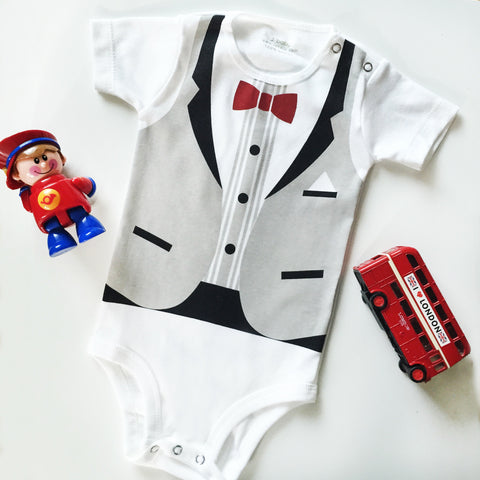 Bodysuit Formal Rompi Abu