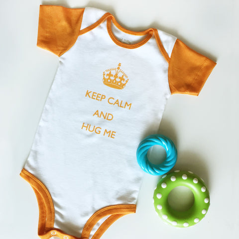 Bodysuit Keep Calm Orange
