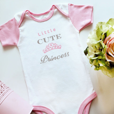 Bodysuit Little Cute Princess