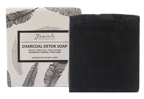 Charcoal Detox Soap Bar (cedarwood/orange/ylang ylang)