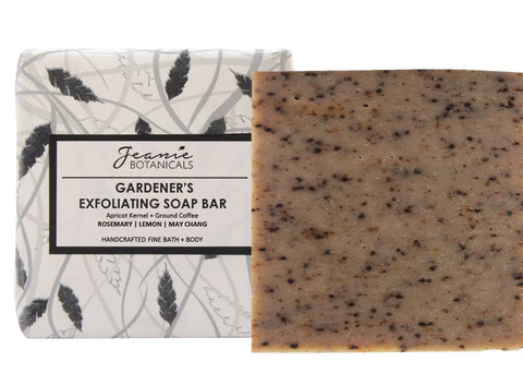 Gardener's Exfoliating Soap Bar (rosemary/lemon/may chang)