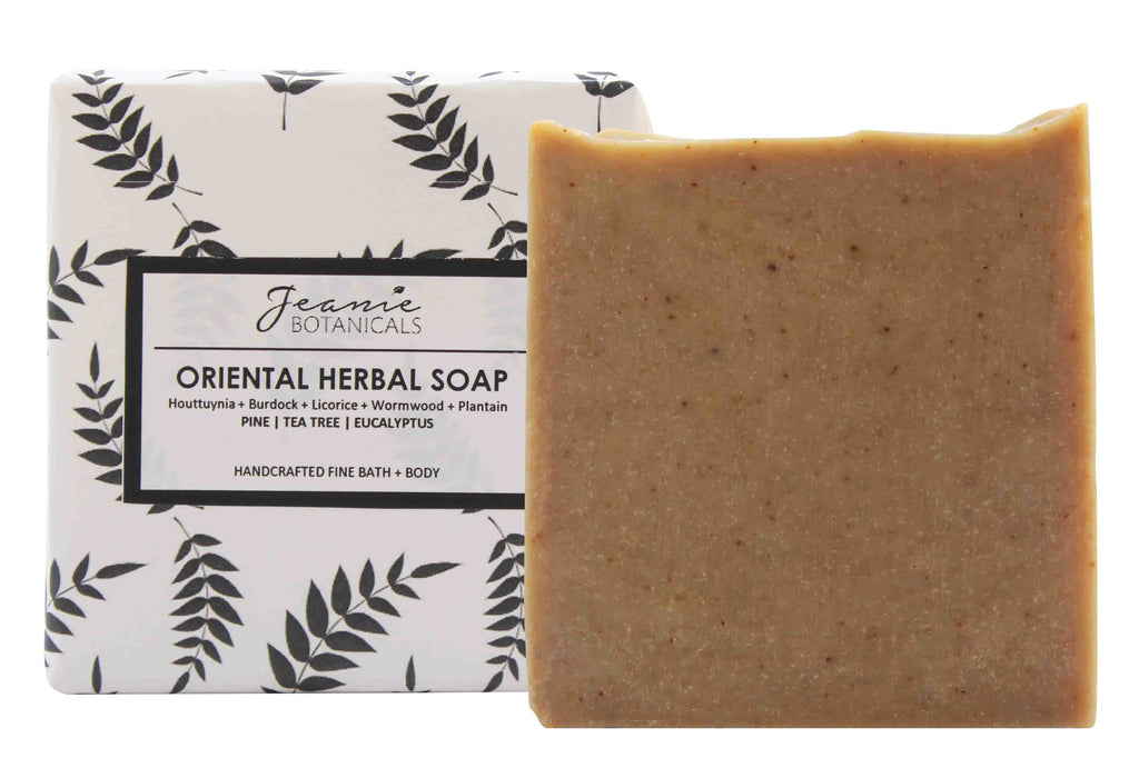 Oriental Herbal Soap Bar (pine/tea tree/eucalyptus)