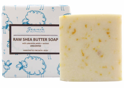 Calendula & Shea Butter Soap Bar (unscented)