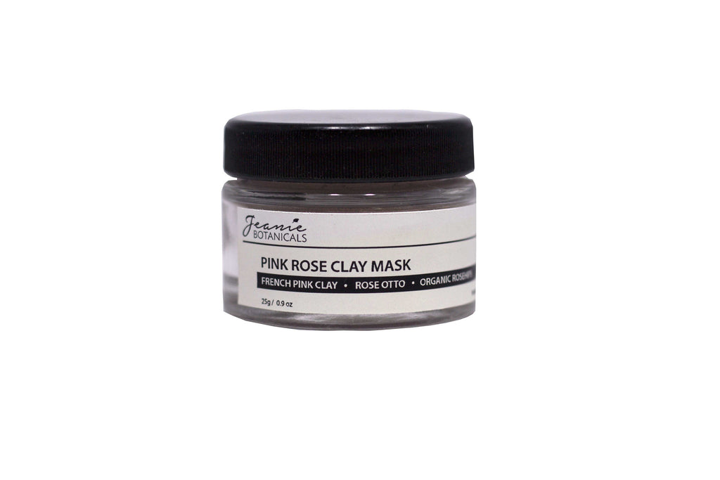 Pink Rose Clay Mask