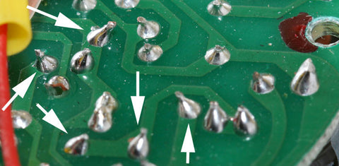 Ugly solder joints