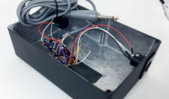 transformer test rig for T84-55 microphone circuit