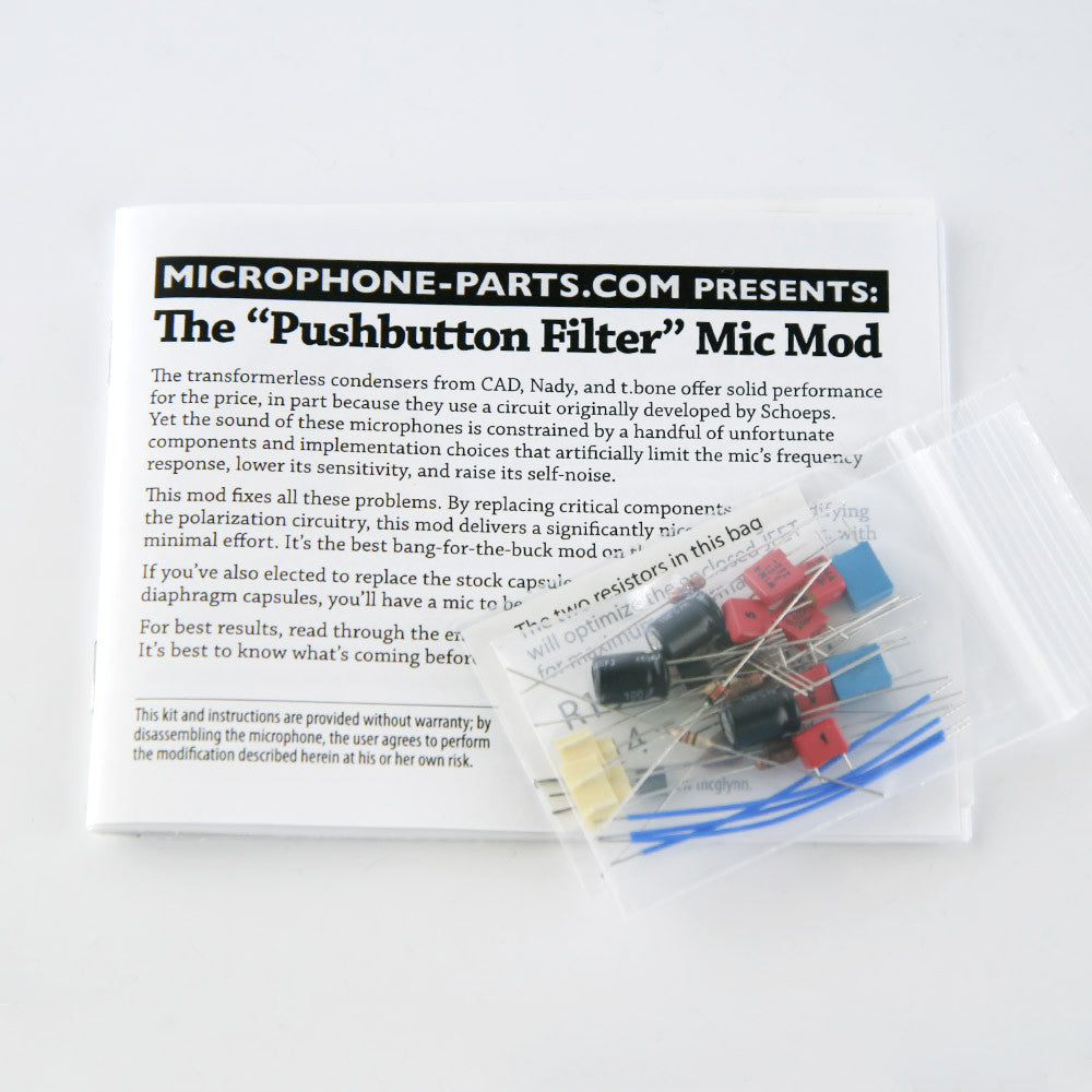 Pushbutton Filter Circuit Upgrade Kit High Quality Board Scrap Buy Scrappcb