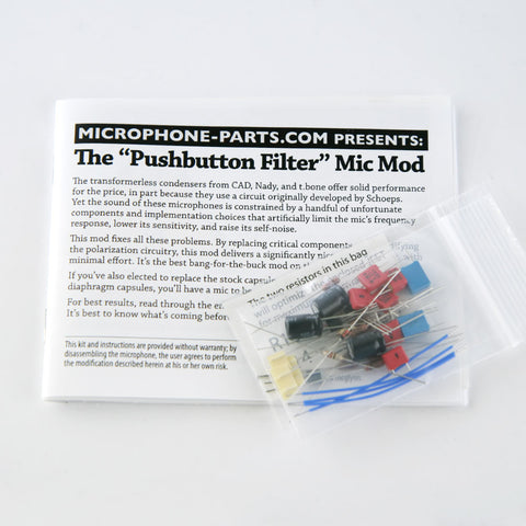 Pushbutton Filter Circuit Upgrade Kit